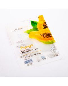 Mascarilla facial Celavi papaya anti edad reparadora 20g