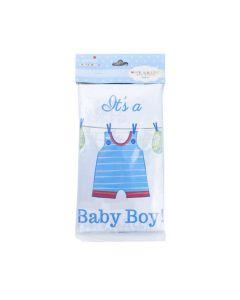 MANTEL PLASTICO ITS A BABY BOY