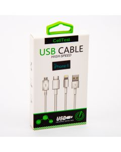 Cable iphone 6 1m