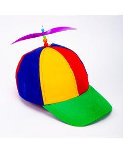 Sombrero fiesta con hélice