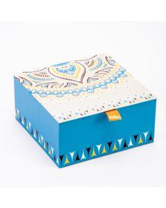 Caja cartón 16.7x16.7x8.2cm