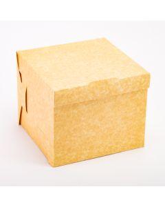 Caja queque 19x19x15cm