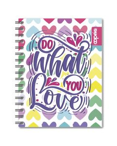 Cuaderno resorte 100h