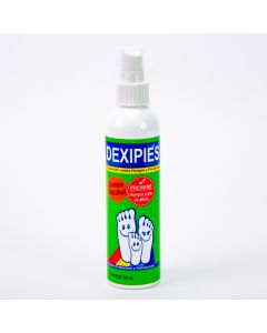 Solución spray dexipies