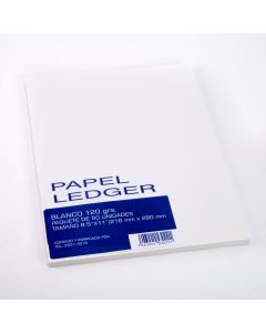 Papel LEDGER Carta 50H Blanco (ES)
