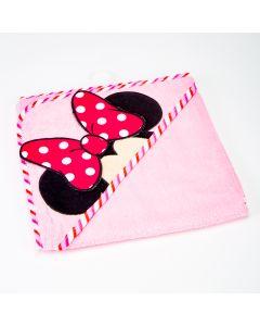 Toalla Minnie Mouse para bebé