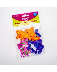 Figura pointer foam adhesiva mariposa