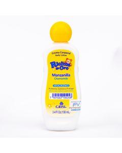 Crema corporal manzanilla hipoalergénica