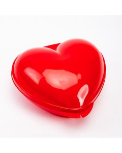 Caja roja corazón 360ml