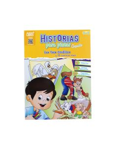 LIBRO COLOREAR HISTORIAS PARA PINTAR 3 CERDITOS